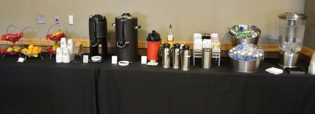 Coffee, Decaf, Tea and Water - photo by Rochester Writers
