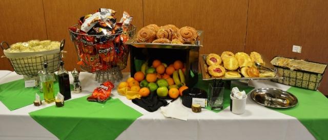Breakfast Snacks - photo by Rochester Writers