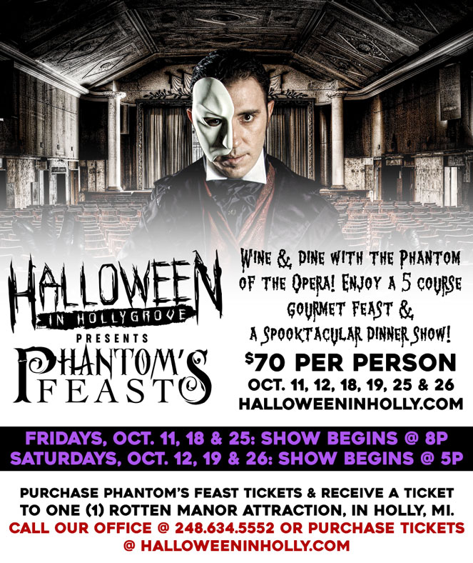 Halloween in Hollygrove Event Flier
